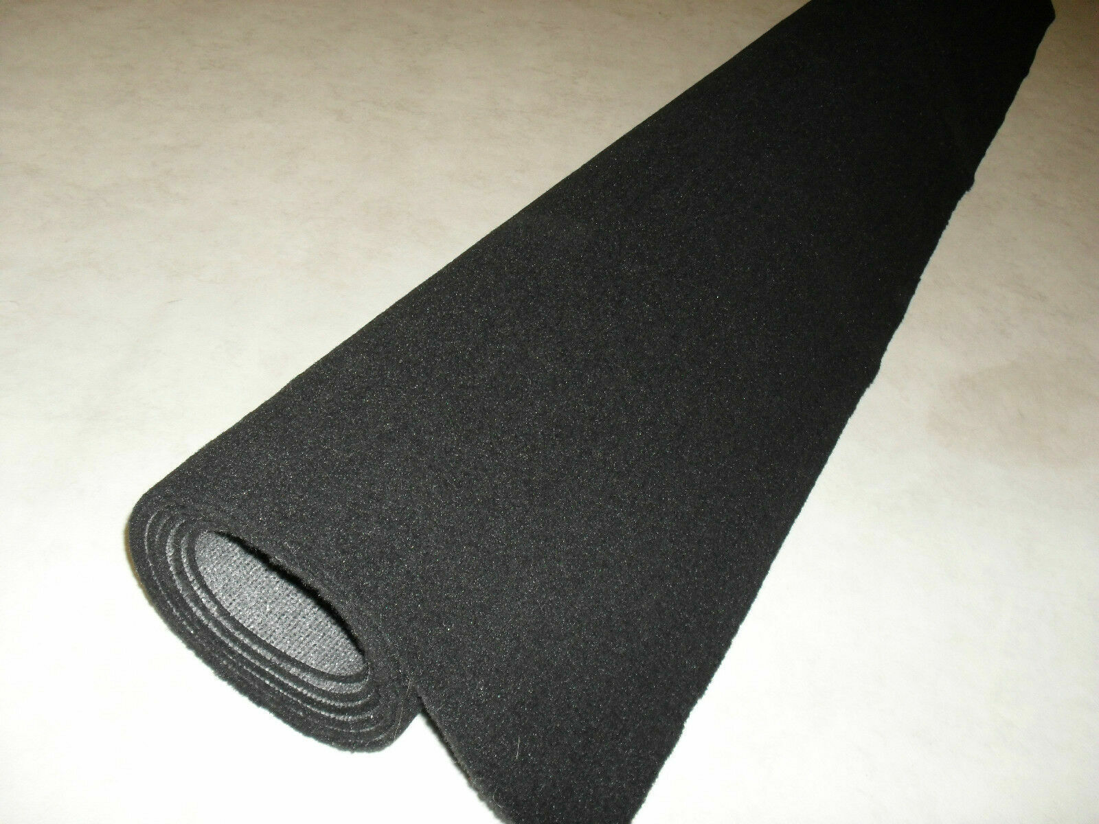 Car Parts - CAR CARPET SHEETS in Anthracite/Black Luxury Quality