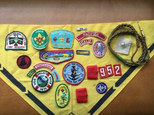 LOT OF BOY SCOUT RELATED PATCHES