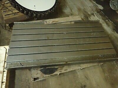 67.5 X 34.5 X 5.5 Steel Welding 5 T-slotted Table Layout Plate Jig5 Slot