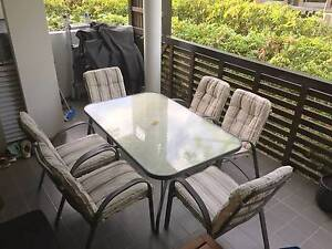 Outdoor dining table and 6 chairs - collection only Newstead Brisbane North East Preview
