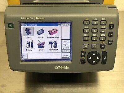 Trimble Cu Field Controller Robotic Total Station Rts 555 655 5600 S6 Vx Survey
