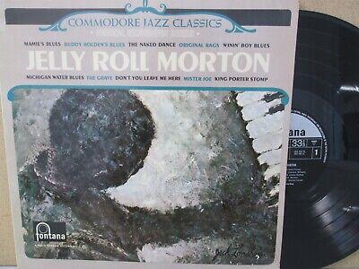 JELLY ROLL MORTON- PIANO SOLOS LP (UK Fontana TL 5261 Vinyl EX) The Best of