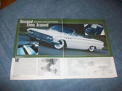 1961 Buick LeSabre Convertible Mild Custom Article