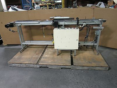 Dorner 2100 Series Flat Belt Conveyor Conveying System Plc Controlled 6x96