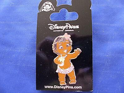 Disney * BABY MOANA & SEASHELL * New on Card Character Trading Pin