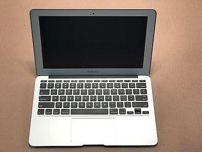 "MacBook Air 11""/11.6"" diag A1465 Core i5 1.6 GHz 128 GB HDD 2015 Excellent Cond"