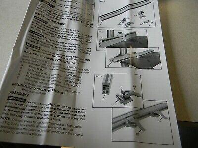 Biesemeyer 18-901 Universal Drill Press Table Fence