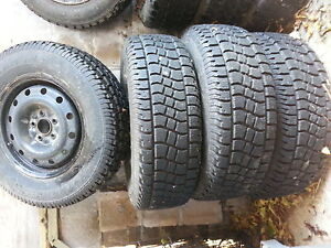 "16"" winter tires and rims-excellent condition"