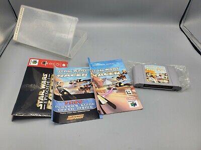 Nintendo 64 N64 Star Wars Episode I 1 Racer