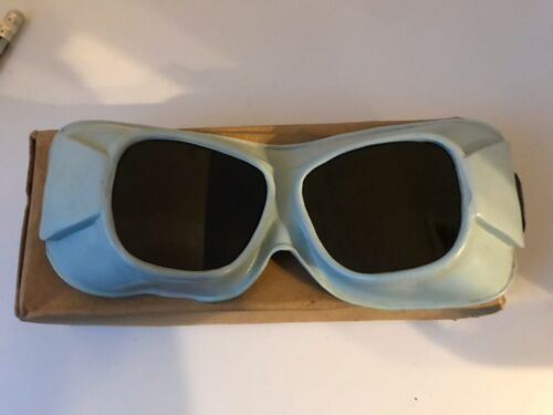 goggles ussr welding eye protection selikon vintage construction