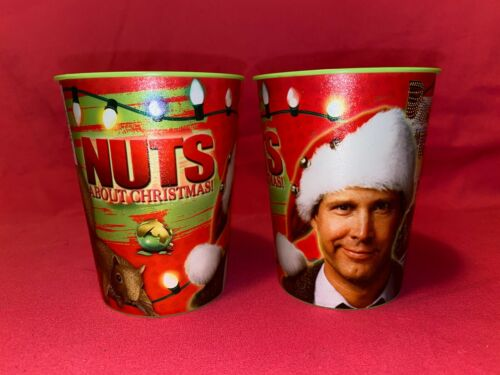 Set of 2 National Lampoon Christmas Vacation Party Cups Clark Griswold