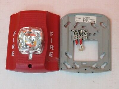 System Sensor Sr Spectralert Fire Alarm Strobe