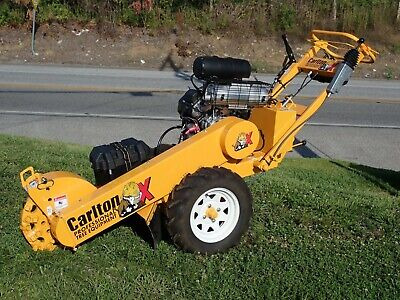 New Carlton Sp2000 Self Propelled Stump Grinder 27 Hp Kohler Gas Engine