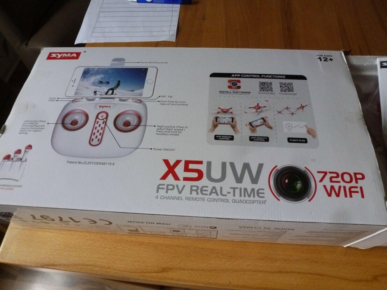 Drohne mit Kamera X5 UW Syma
