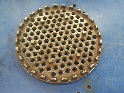 Enterprise 4 Qt Strainer Plate Sausage Stuffer Lard Fruit Duck Cider Press 2