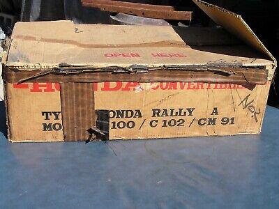 NOS 1960;s Honda Vintage Rally Kit Gas Tank Seat Kit  CM91 / C100 / C102