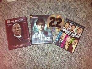 4 dvd's for $10