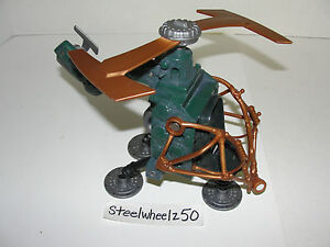 TMNT-Pogo-Coptor-Vehicle-2003-Mirage-Playmates-Helicopter-Mutant-Ninja-Turtle