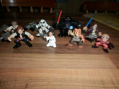 Star Wars Galactic Heroes Bundle Of 8 figures