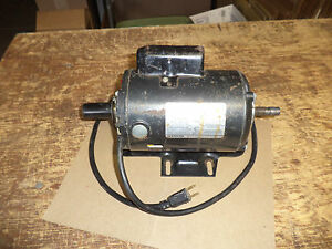 Craftsman belt drive table saw motor dual shaft 1 hp 113 for 1 hp table saw motor