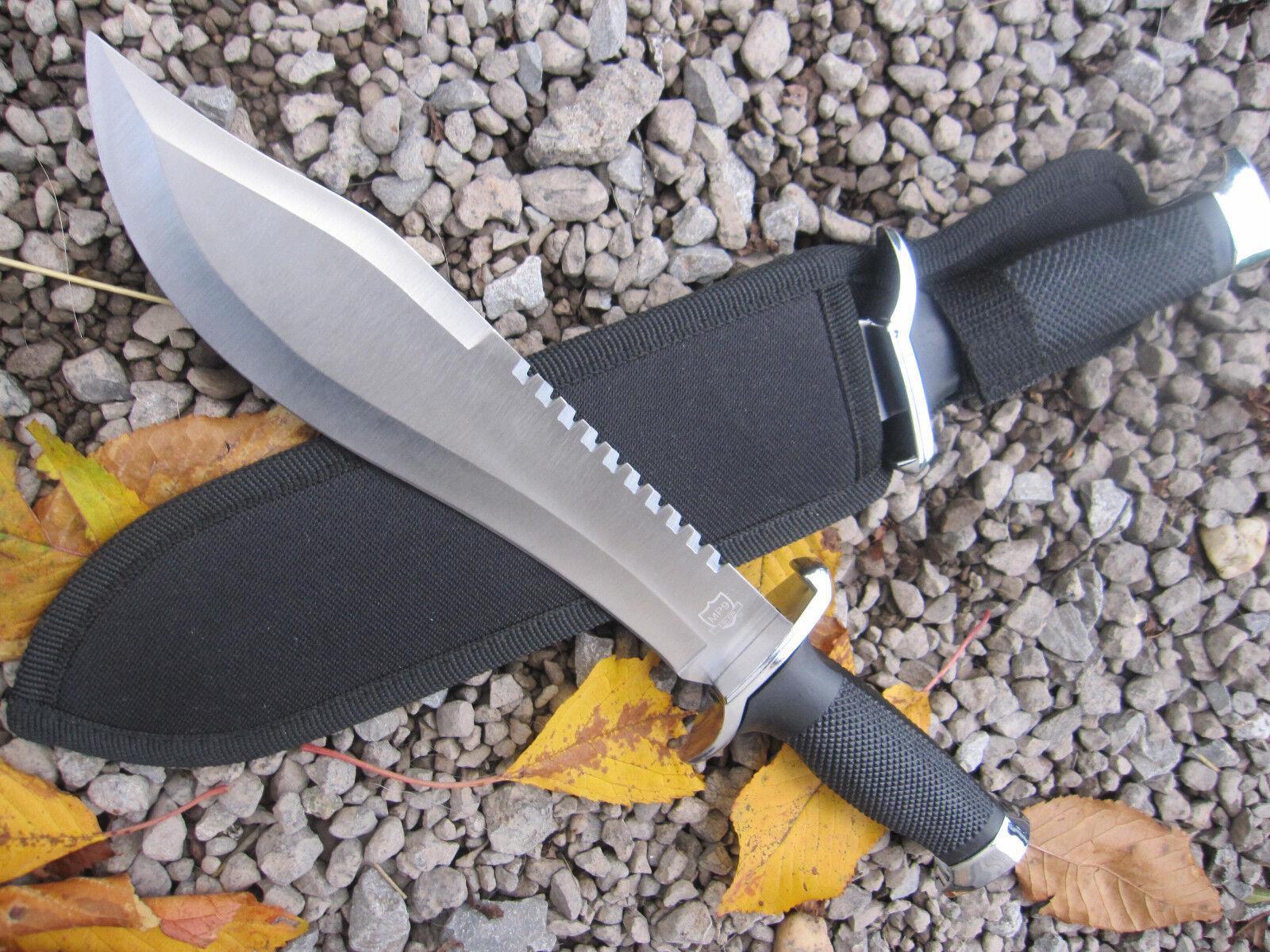 MP9 Machete Haumesser rostfreie Klinge Ganzstahl Nylonscheide mit Gürtelschlaufe