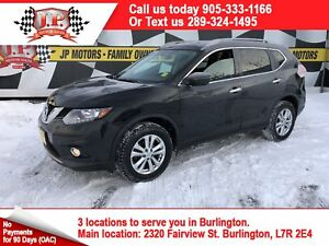 2016 Nissan Rogue SV, Automatic, Sunroof, Back Up Camera, AWD