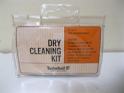Timberland  Footwear Dry Cleaning Kit Brush+Cleaner Bar Nubuck Suede