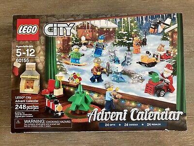 LEGO City Advent Calendar 60155 2017 Opened/Complete