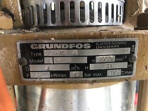 Grundfos cr4-40 Maroota The Hills District Preview