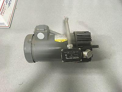Baldor 1hp Motor Vm3546 Fr-56c 208-230460v 3ph 1725rpm Warner Brake Cbc