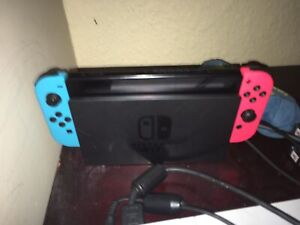 Nintendo Switch with lots of games