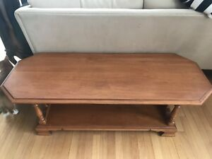 Beautiful vintage country-style coffee table
