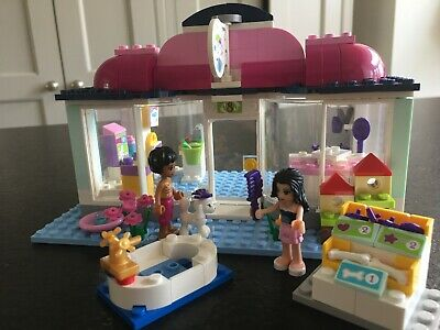 LEGO Friends Heartlake Pet Salon 41007 Complete Set with Instructions Immaculate