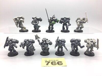 Warhammer 40,000 Espacio Marines Adeptus Astartes Asalto Saltar Packs X 11 segunda mano  Embacar hacia Spain