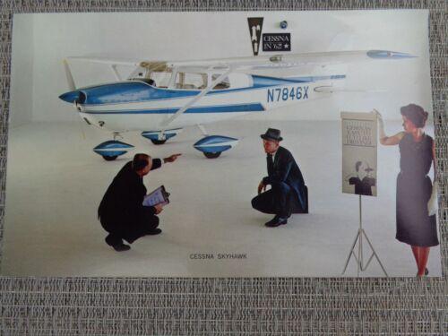 Vintage 1962 Cessna Skyhawk 172 Unused Dealer