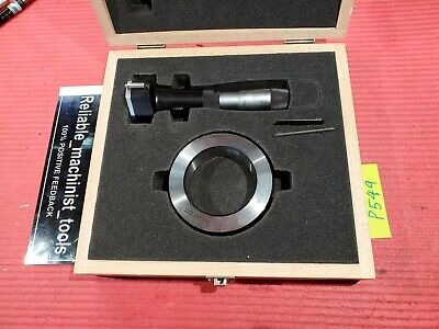 Starrett Bore Gage Holetest Inside Micrometer Intrimik 2 58-3 14 In 78xtz 314