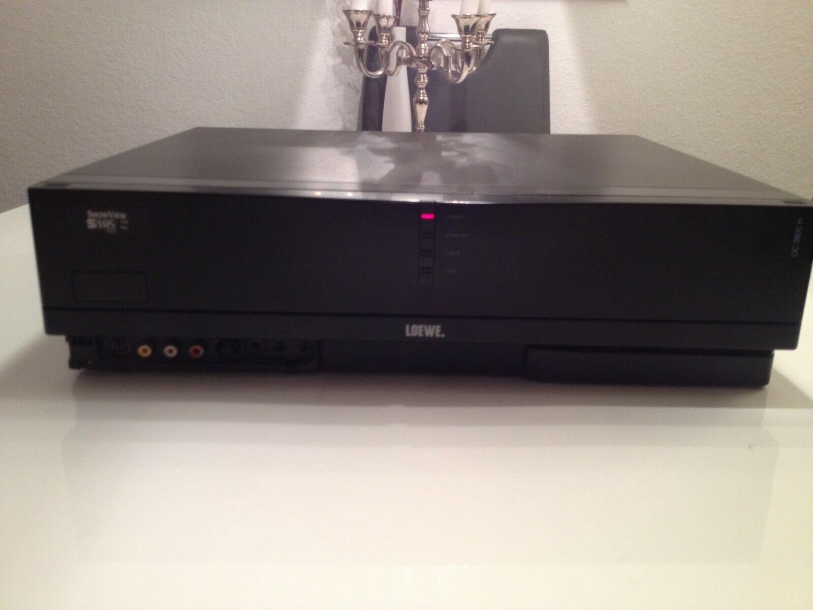 Loewe OC 3800 Videorekorder TBC LP S- VHS +FB+BDA überholt geprüft