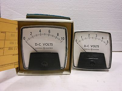 General Electric Panel Meter Dc Volts 1-5