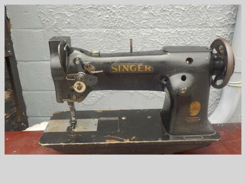 Industrial Sewing Machine Singer 111w151,one needle,needle feed -Leather