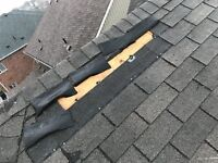 Roof repairs, eavestrough repairs and cleaning!