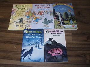 5-FANTASTIC-BOOKS-by-JOAN-AIKEN-3-25-UK-P-P-PAPERBACKS