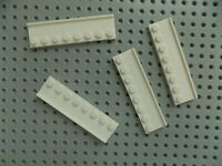 LEGO Lot of 2 Tan 1x8 Door Rail Plates