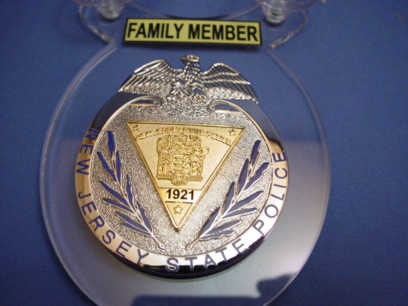 2020  NEW JERSEY     FAMILY MEMBER CAR SHIELD-PBA  - NYC FOP -05