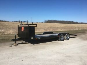 18 FT Car Trailer with Tool Box