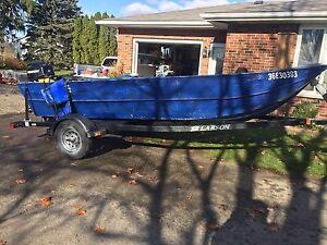 16 foot steel boat 2013 30 hp