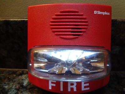 Simplex 4903-9419 Non-addressable Red Fire Alarm Strobe Free Shipping