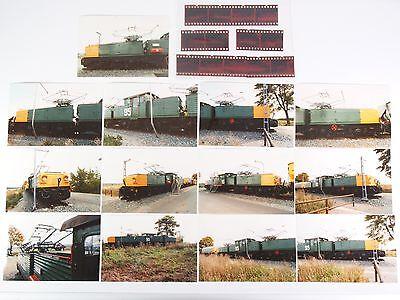 "13 Fotos mit Negativen - Tagebau E-Lok 95 - Helmstedt 1993 ""Xoa07"
