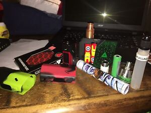 Lot of vape stuff for good prices