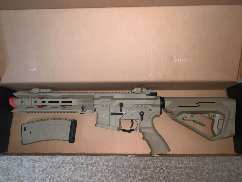 Matrix Raystar RS4 Carbine Airsoft AEG (tan)