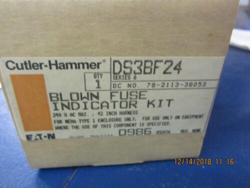 CUTLER HAMMER    DS3BF24     BLOWN FUSE KIT